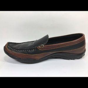 Allen Edmonds Shoes - Allen Edmonds Boulder Leather Loafers Black Sz 11D